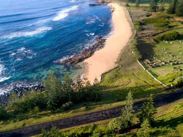 Aerial Cemetery Beach 3
