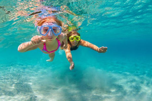 Kids Norfolk Island Snorkelling